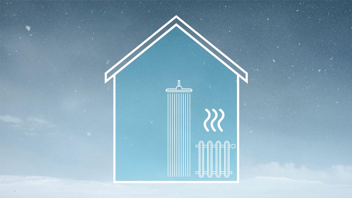 Væske-til-vann-varmepumpe