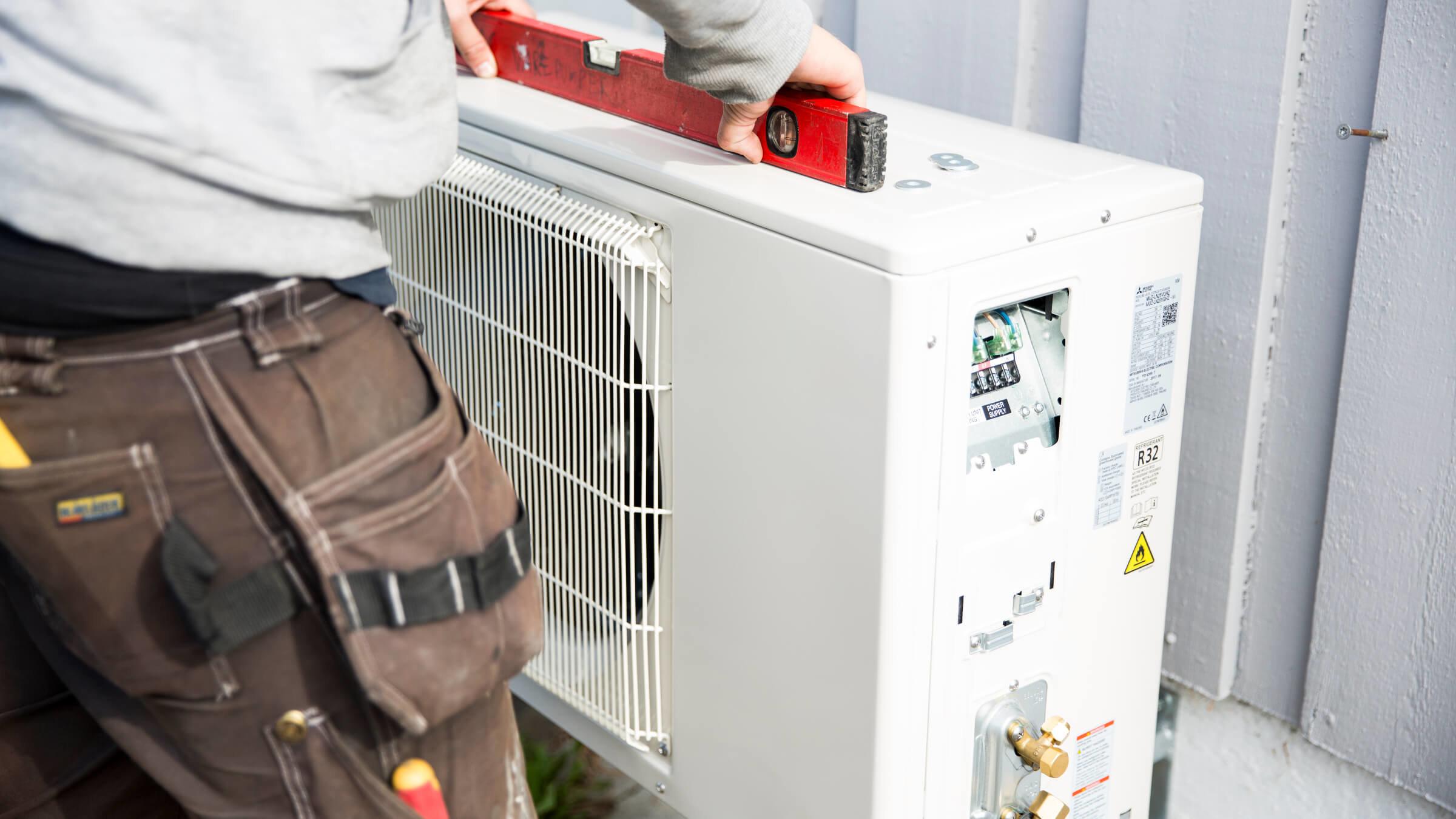 installere varmepumpe pris